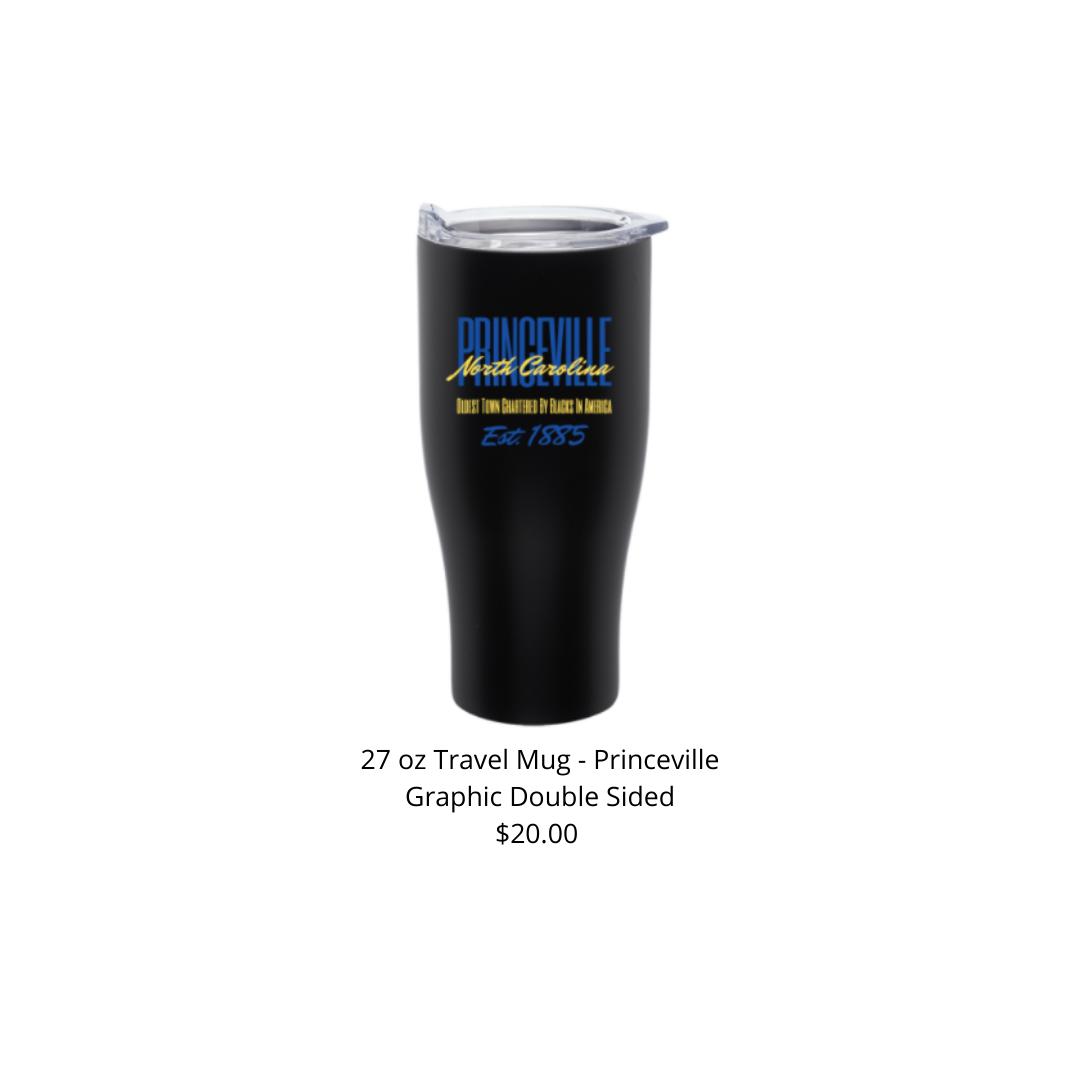 Princeville 27 oz Stainless Steel Grip Travel Mug